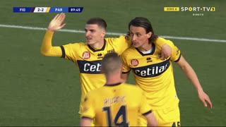 GOLO! Parma, V. Mihăilă aos 90', Fiorentina 2-3 Parma