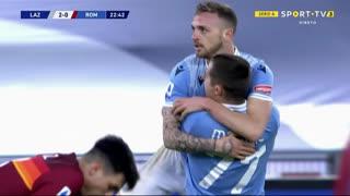 GOLO! Lazio, Luis Alberto aos 23', Lazio 2-0 Roma