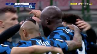 GOLO! Internazionale, R. Lukaku aos 84', Internazionale 3-2 Torino