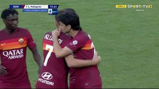 GOLO! Roma, L. Pellegrini aos 73', Roma 3-0 Crotone