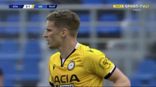 GOLO! Udinese, J. Larsen aos 71', Atalanta 3-2 Udinese