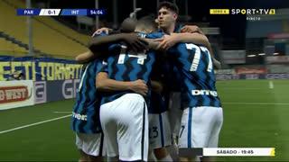GOLO! Internazionale, A. Sánchez aos 54', Parma 0-1 Internazionale