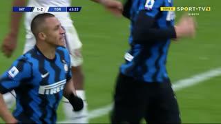 GOLO! Internazionale, A. Sánchez aos 64', Internazionale 1-2 Torino