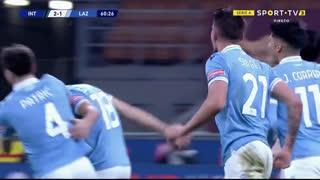 GOLO! Lazio, G. Escalante aos 61', Internazionale 2-1 Lazio