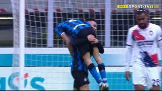 GOLO! Internazionale, A. Hakimi aos 87', Internazionale 6-2 Crotone