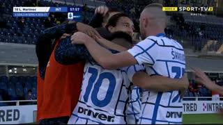 GOLO! Internazionale, L. Martínez aos 58', Atalanta 0-1 Internazionale