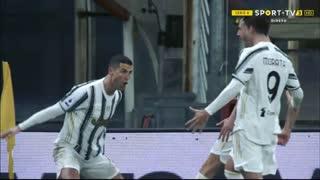 GOLO! Juventus, Cristiano Ronaldo aos 78', Genoa 1-2 Juventus