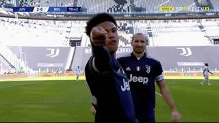 GOLO! Juventus, W. McKennie aos 71', Juventus 2-0 Bologna