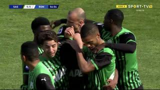 GOLO! Sassuolo, H. Traorè aos 57', Sassuolo 1-1 Roma