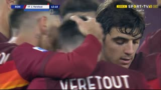 GOLO! Roma, J. Veretout aos 43', Roma 2-0 Torino
