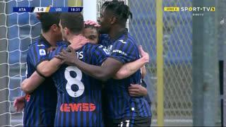 GOLO! Atalanta, L. Muriel aos 19', Atalanta 1-0 Udinese