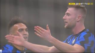 GOLO! Internazionale, M. Škriniar aos 54', Internazionale 1-0 Atalanta