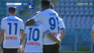 GOLO! Atalanta, A. Gómez aos 13', Torino 1-1 Atalanta