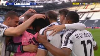 GOLO! Juventus, J. Cuadrado aos 88', Juventus 3-2 Internazionale