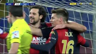 GOLO! Genoa, G. Pandev aos 11', Genoa 1-0 Napoli
