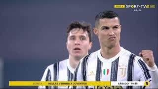 GOLO! Juventus, Cristiano Ronaldo aos 38', Juventus 1-0 Crotone