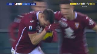 GOLO! Torino, A. Belotti aos 66', Torino 1-2 Udinese