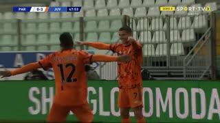 GOLO! Juventus, Cristiano Ronaldo aos 48', Parma 0-3 Juventus