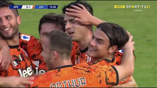 GOLO! Juventus, Álvaro Morata aos 14', Spezia 0-1 Juventus