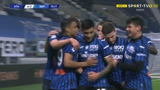 GOLO! Atalanta, C. Romero aos 79', Atalanta 4-2 Napoli