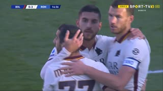 GOLO! Roma, L. Pellegrini aos 15', Bologna 0-4 Roma