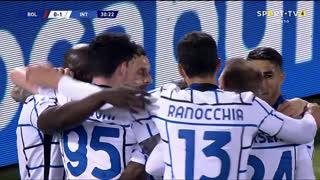 GOLO! Internazionale, R. Lukaku aos 31', Bologna 0-1 Internazionale