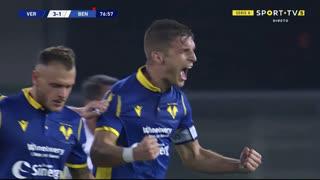 GOLO! Verona, D. Lazović aos 77', Verona 3-1 Benevento