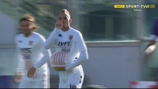GOLO! Benevento, R. Improta aos 52', Fiorentina 0-1 Benevento