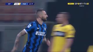 GOLO! Internazionale, M. Brozović aos 64', Internazionale 1-2 Parma