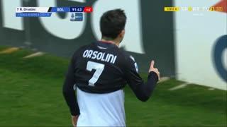 GOLO! Bologna, R. Orsolini aos 90'+2', Parma 0-3 Bologna