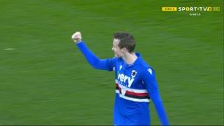 GOLO! Sampdoria, J. Jankto aos 36', Sampdoria 2-0 Crotone