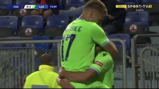 GOLO! Lazio, C. Immobile aos 74', Cagliari 0-2 Lazio