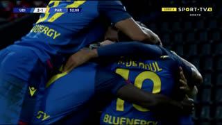 GOLO! Udinese, S. Iacoponi (p.b.) aos 52', Udinese 2-1 Parma