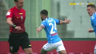 GOLO! Napoli, L. Insigne aos 56', Fiorentina 0-1 Napoli