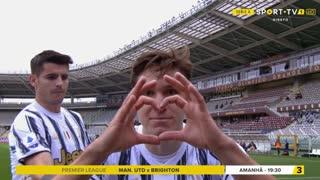 GOLO! Juventus, F. Chiesa aos 13', Torino 0-1 Juventus
