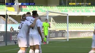 GOLO! Milan, Diogo Dalot aos 50', Verona 0-2 Milan