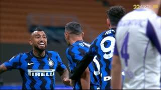 GOLO! Internazionale, D. D'Ambrosio aos 89', Internazionale 4-3 Fiorentina
