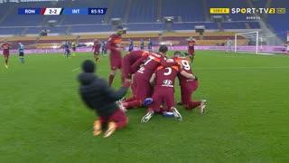 GOLO! Roma, G. Mancini aos 86', Roma 2-2 Internazionale