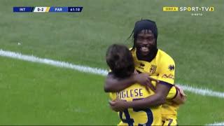 GOLO! Parma, Y. Gervinho aos 62', Internazionale 0-2 Parma