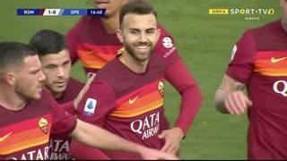 GOLO! Roma, Borja Mayora aos 17', Roma 1-0 Spezia