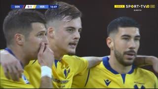 GOLO! Verona, I. Ilić aos 17', Genoa 0-1 Verona