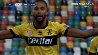 GOLO! Parma, Hernani aos 26', Udinese 0-1 Parma