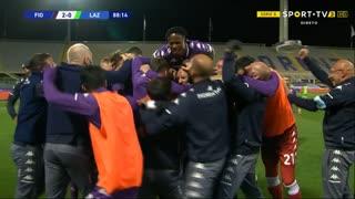 GOLO! Fiorentina, D. Vlahović aos 89', Fiorentina 2-0 Lazio