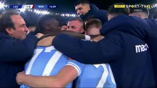 GOLO! Lazio, C. Immobile aos 14', Lazio 1-0 Roma
