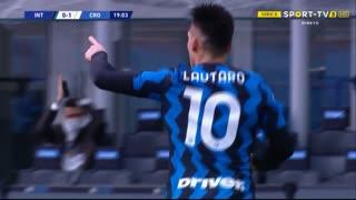 GOLO! Internazionale, L. Martínez aos 20', Internazionale 1-1 Crotone