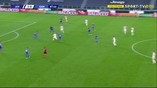GOLO! Juventus, Cristiano Ronaldo aos 88', Juventus 3-0 Sampdoria
