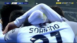 GOLO! Bologna, R. Soriano aos 17', Sassuolo 0-1 Bologna