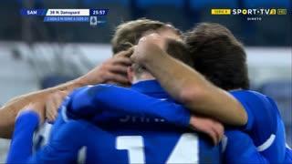 GOLO! Sampdoria, M. Damsgaard aos 26', Sampdoria 1-0 Crotone