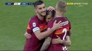 GOLO! Roma, H. Mkhitaryan aos 78', Roma 4-0 Crotone