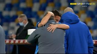 GOLO! Napoli, D. Mertens aos 34', Napoli 1-0 Benevento